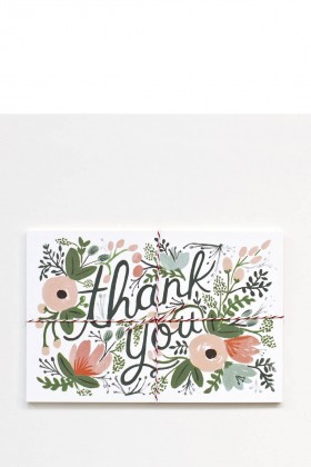 Rifle Paper Co. - Wildflower thank you 10lu Tebrik Kartı