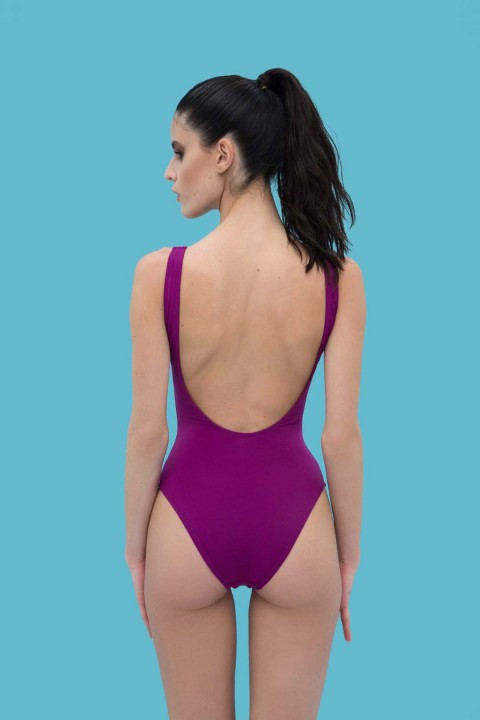 Anais Margaux Paris Margot Grape Juice Swimsuit