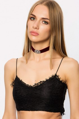 Lidyana Accessories - Meyisa Bordo Choker
