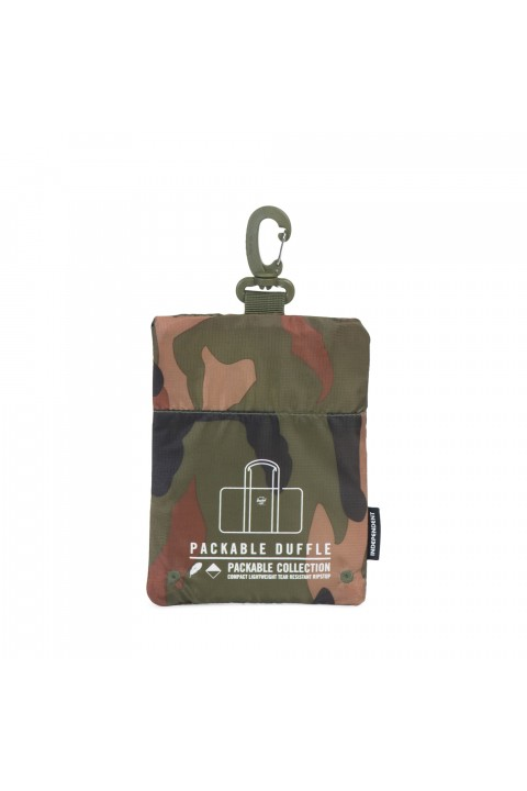 Herschel Packable Duffle-Woodland Camo Independent