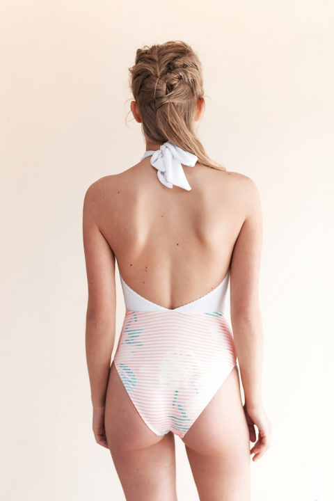 Movom Swimwear Bali Deep V One Piece