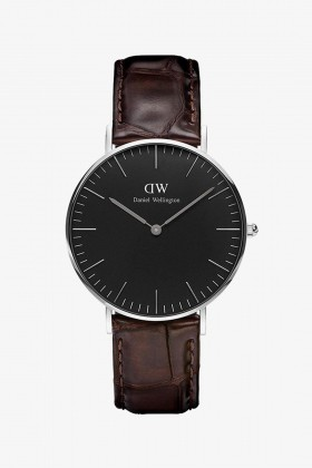 Daniel Wellington - Daniel Wellington Women Classic Black York Silver 36Mm