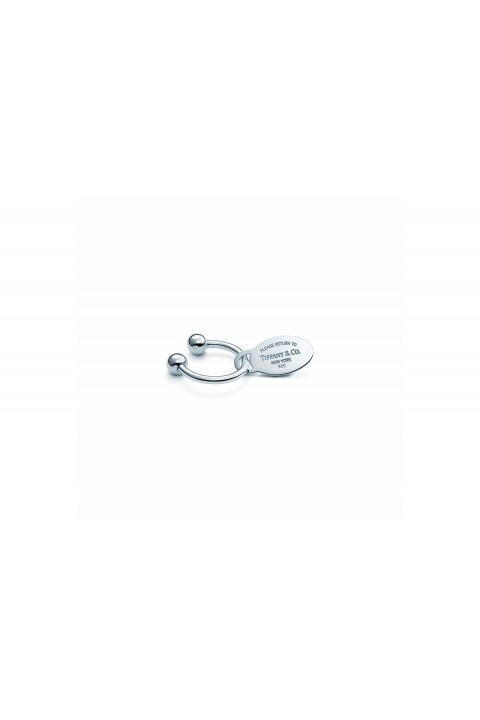 Tiffany & Co. Return to Tiffany Oval Key Ring