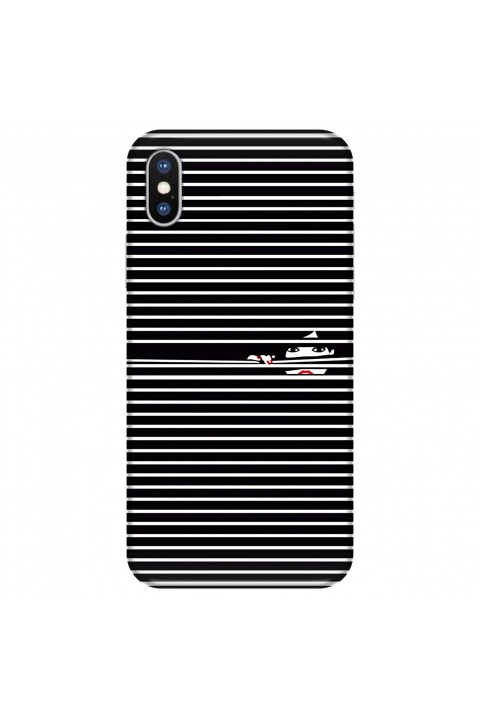 Svart Case Apple Iphone X Silikon Telefon Kılıfı