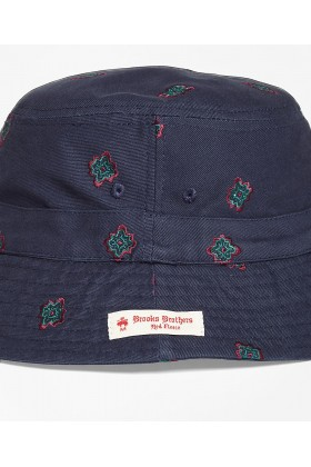 Brooks Brothers - Rf Hat Medallion Bucket Nvy