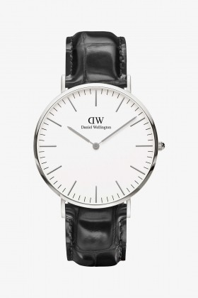 Daniel Wellington - Daniel Wellington Men Classic Reading Silver 40Mm
