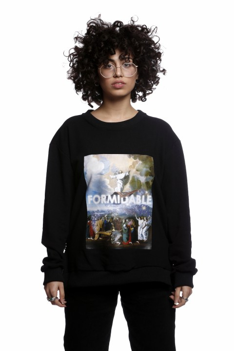 Tou Clothing Formidable Siyah Sweatshirt