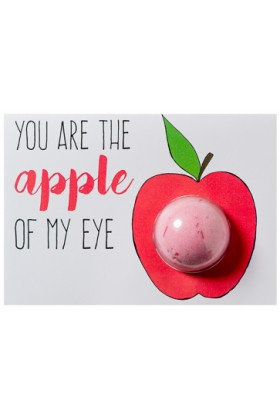 Bomb Cosmetics - You Are The Apple Of My Eye Blaster Card