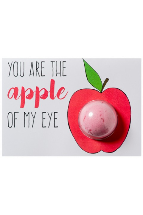 Bomb Cosmetics You Are The Apple Of My Eye Blaster Card