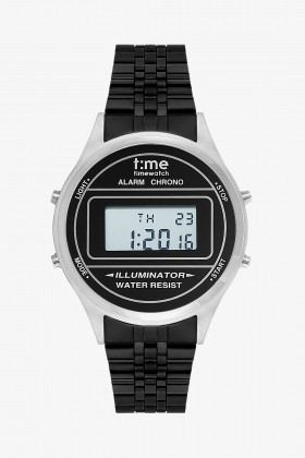 Time Watch - Time Watch TW.126.2CBB Black Design Kol Saati