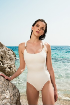 Anais Margaux Paris - Josephine Ecru Swimsuit