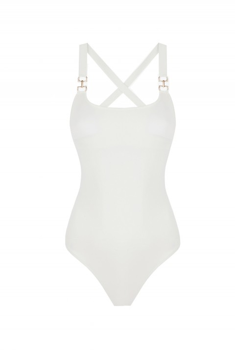 Anais Margaux Paris Josephine Ecru Swimsuit