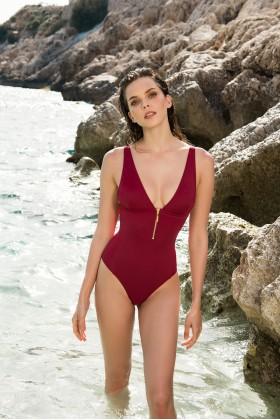 Anais Margaux Paris - Noelle Cherry Swimsuit