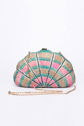 Larone by Bengartisans - Seashell Karuna clutch