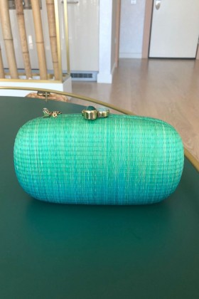 Larone by Bengartisans - Teal Blue Oval