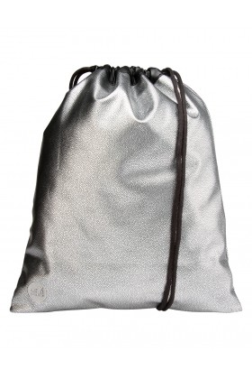 Mi-Pac - Mi-Pac Kit Bag Pebbled Silver Black