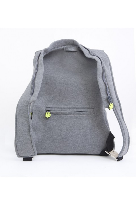 Morikukko Morikukko Basic Grey Neon Yellow