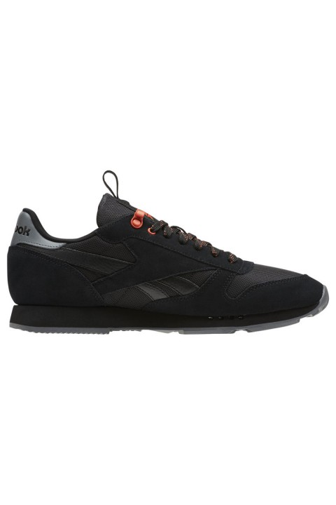 Reebok Cl Leather Mu Black/Alloy/Carotene