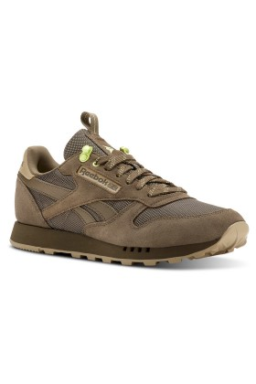 Reebok - Cl Leather Mu Grey/Neutral/Lemon Z