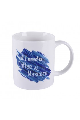 Gavia - Gavia Cloud Mug - All I Need Is Coffee Mascara