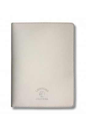 Le Color  - Le Color Leather Notebook Case Grey