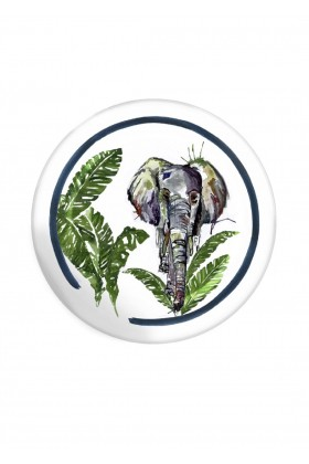 Fern&Co. - Fern&Co 4'lu Serengeti Collection The Elephant Wise Power Kucuk Tabak Seti