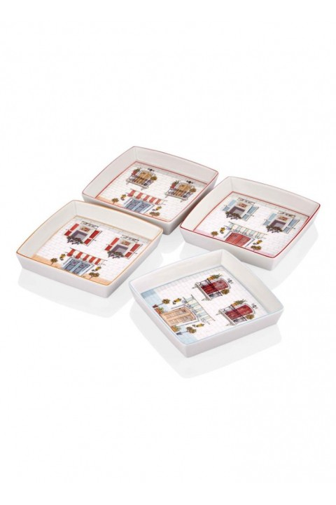 The Mia Home Servis 14 Cm - 4 Lü Set