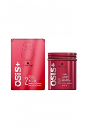 Osis - Osis Mess Up Wax 100 Ml ve Thrill Wax 100 Ml