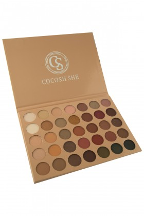 Cocosh She Soft Touch Far Paleti 35 Color Eyeshadow Palette