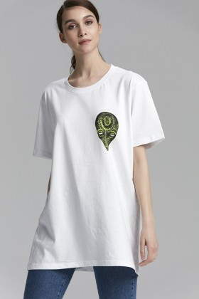 Unspecified - Yesil Printed T-Shirt