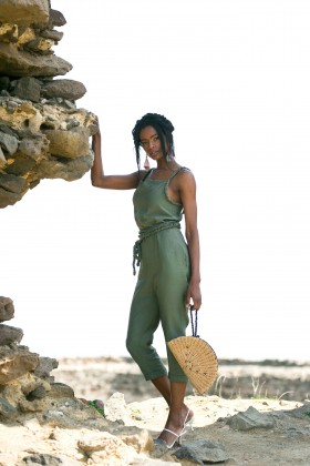 Betty & Sam - Jumpsuit Dark Green