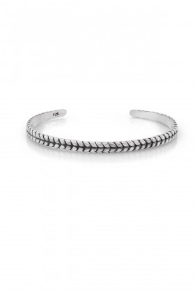 Frnch - FRNCH Acrab Silver Classic Bracelet
