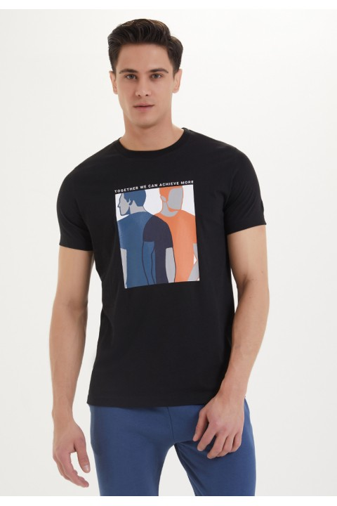 Westmark London Solidarity Tee Siyah T-Shirt