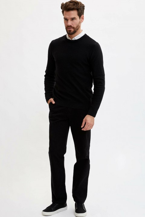 Defacto Basic Slim Fit Kazak