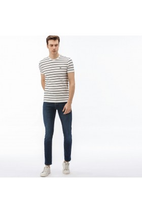 Lacoste - Lacoste Erkek Slim Fit Denim Pantolon