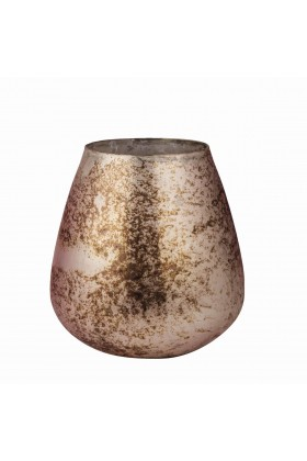Bounoa Design - Copper Oval T-Lıght Mumluk