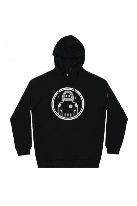 Common People - Siyah Astronaut Black Hoodie
