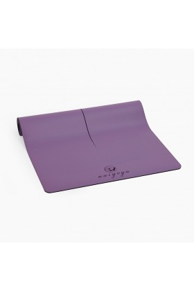 Nui Yoga - Ma'at Design Kaydırmaz 5 mm Mor Yoga & Pilates Matı
