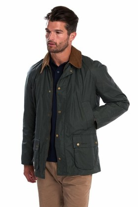 Barbour - Barbour Lightweight Ashby Waxed Jacket  Forest Green