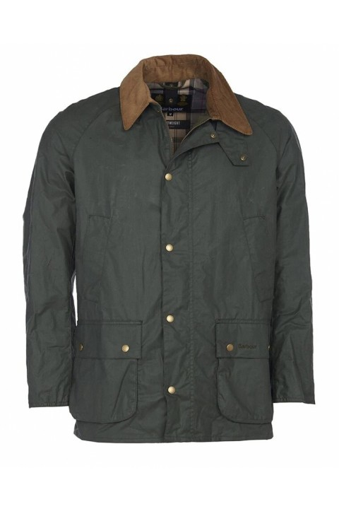 Barbour Barbour Lightweight Ashby Waxed Jacket  Forest Green