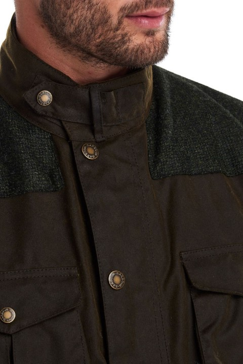 Barbour Barbour Tresco Wax Jacket  Olive