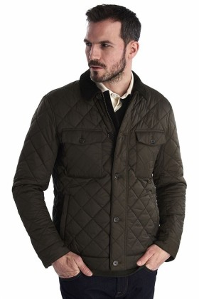 Barbour - Barbour Maesbury Quilt  Olive
