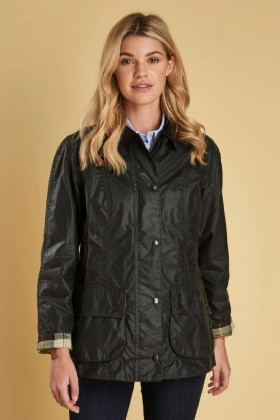 Barbour - Barbour Beadnell Wax Jacked  Sage