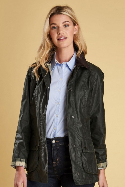 Barbour Barbour Beadnell Wax Jacked  Sage