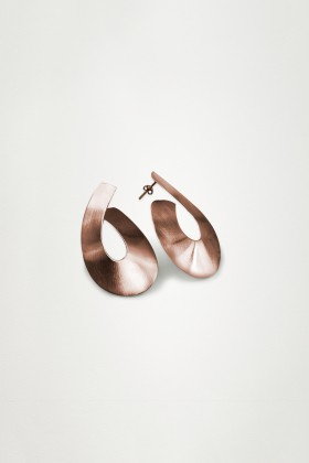 Unadorned Jewelry Design - Rose The Ribbon Küpe