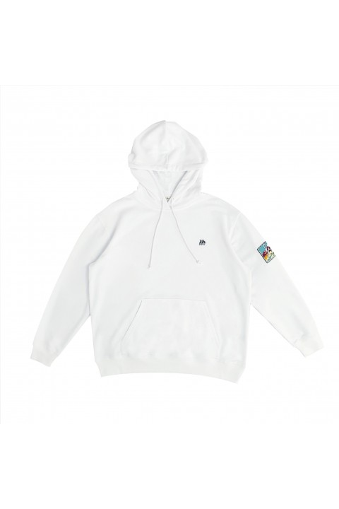 Fifty Pieces Must Have Hoodie / Beyaz