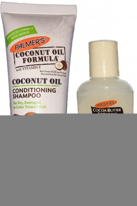 Palmer's - Palmer's Cocoa Butter Formula Coconut Oil Conditioning Şampuan 50 ml + Baby Wash 50 ml Anne Bebek Ta