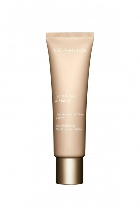 Clarins - Clarins Pore Perfecting Matifying Foundation 02 Nude Beige 30Ml