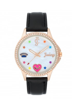 Juicy Couture - JUICY COUTURE JC-1106RGBK Kadın Kol Saati