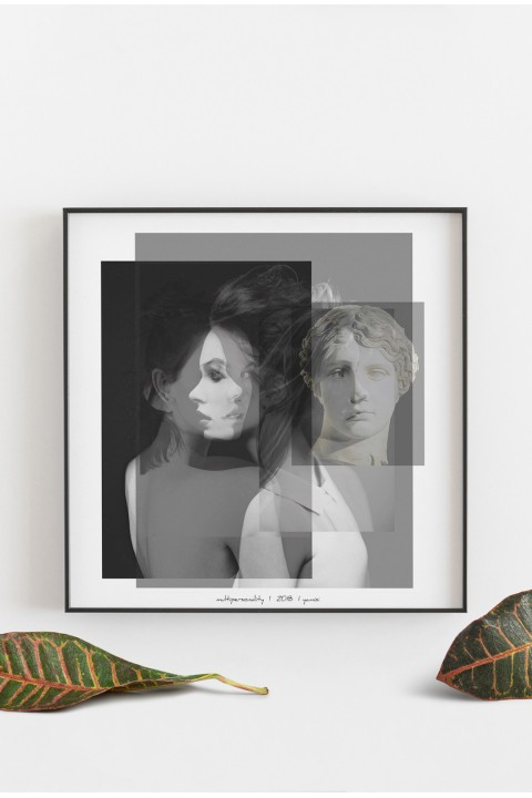 Yamisi Multipersonality Poster 30X30Cm